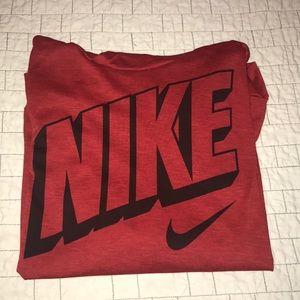 Nike Dri-fit long sleeve hooded T-shirt Youth XL